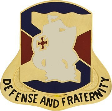 - South US Army Unit Crest (Defense And Fraternity)