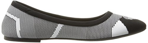 Pictures of Skechers Women's Cleo Wham Flat, Black/White, 8.5 M US 3
