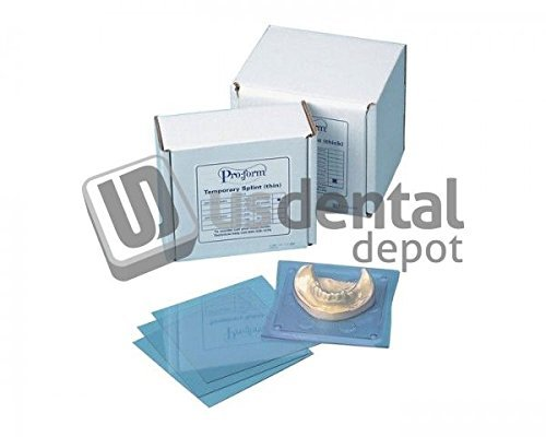 KEYSTONE - Splint Material - .020in ( 0.5mm ) - 50pk - 5in x 5in sheet 101184 Us Dental Depot by Keystone (Image #1)