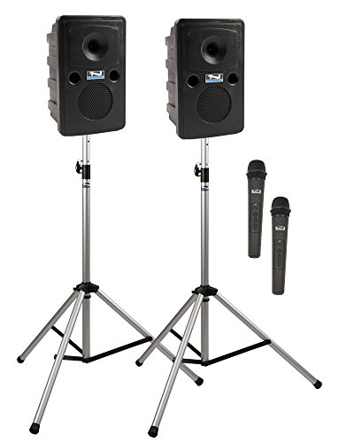 Anchor Audio Go Getter Deluxe AIR Package 2 with Wireless AIR Companion Speaker and Two Wireless Microphones ()