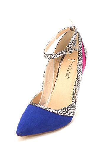 Cobalt Cheville Femmes Bout Étain De De D Shivani Pompes Shoedazzle Sangle orsay Pointu wIqdxOUP