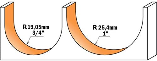CMT 914.990.11 FRESA DE RADIO CONVEXO HM S=12 D=50,8X31,75 R=25,4