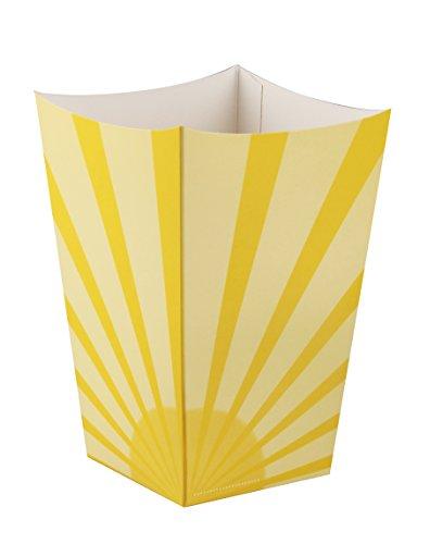 Fackelmann 59880Snack Popcorn Box, Cardboard, 55x 55x 25cm 6Units
