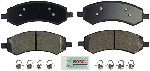 Bosch BE1084H Blue Disc Brake Pad Set with Hardware
