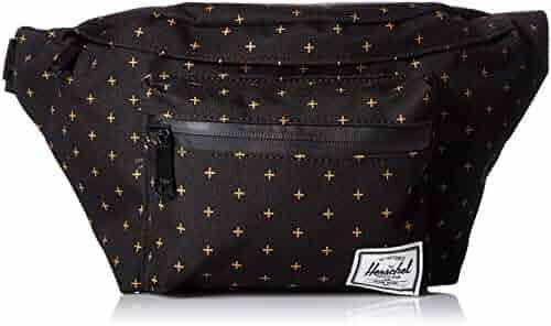 Herschel Supply Co. Seventeen Waist Pack, Black Gridlock Gold, One Size