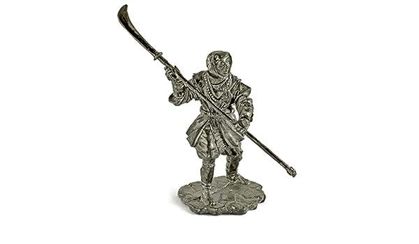 Soldados de estaño. Estaño figuras. Ninja de monje ...