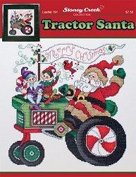 (Tractor Santa (Leaflet 191) Cross Stitch)