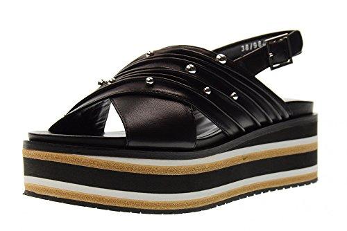 Precio barato Original Bruno Premi Sandalias De Mujer Zapatos Con Plataforma R4502n Negro Negro Compre barato cuánto nWlKZr2