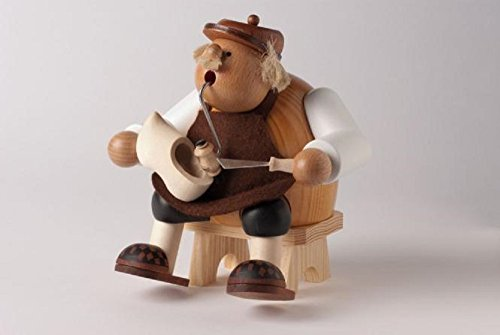KWO Chubby Sitting Clog Maker German Wood Christmas Incense Smoker Shoe Maker by KWO