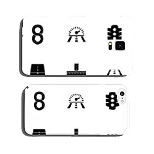 Vector road icon set cell phone cover case iPhone6