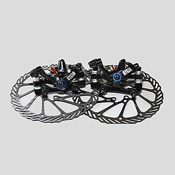 frenos delanteros oeste bicycle disco mtb freno y disco traseros + ...