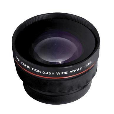Wide Angle Lens Kit For Sony NEX-F3, NEX-7, NEX-5N, NEX-5, NEX-5R, NEX-3, NEX-C3 Interchangeable Lens Camera (That Use E-Mount 18-55mm, 30mm, 16mm, 24mm, 55-210mm, 50mm Lenses) + LensPen Cleaning Kit by ButterflyPhoto