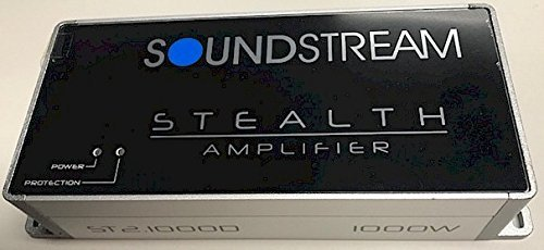 Soundstream ST2.1000D Stealth Series 1000W Class D 2 Channel Amplifier by Soundstream (Image #2)