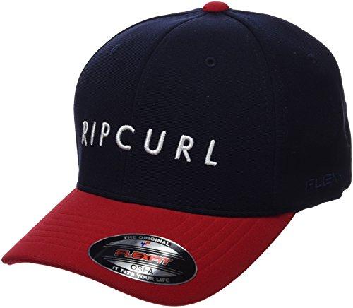 3cf998e31fd8 Taille Unique Rip Italique Bright Undertow Red Casquette Curl fvvSRqP ...