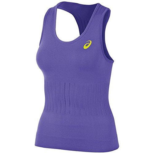 Asics - Maglia sportiva - Senza maniche  -  donna Violet Purple Large