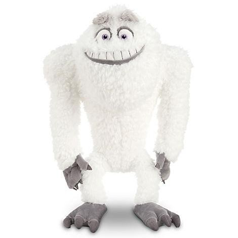 "Disney Monsters Inc. 17"" Plush Abominable Snowman Yeti Plush Doll"