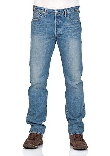 Fit Blau Levi's Straight 501 Original Uomo Jeans Fwqaz
