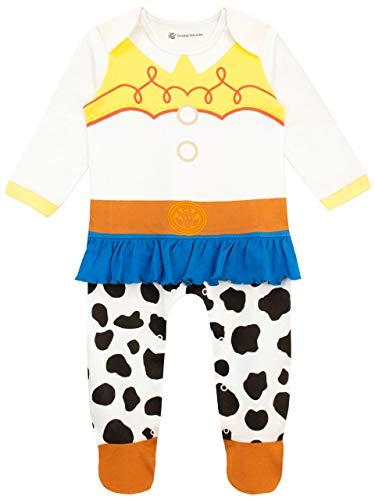 Disney Baby Girls' Toy Story Footie Jessie Multicolored Size 18M (Toy Story Jessie Pajamas)