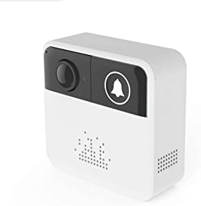 beiyoule WiFi Video Doorbell Visual Remote Intercom Home Security Multifunction Home Use