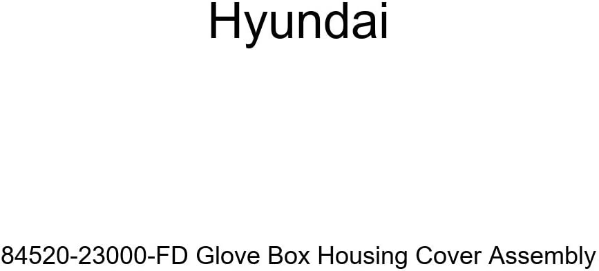 Genuine Hyundai 84520-23000-FD Glove Box Housing Cover Assembly
