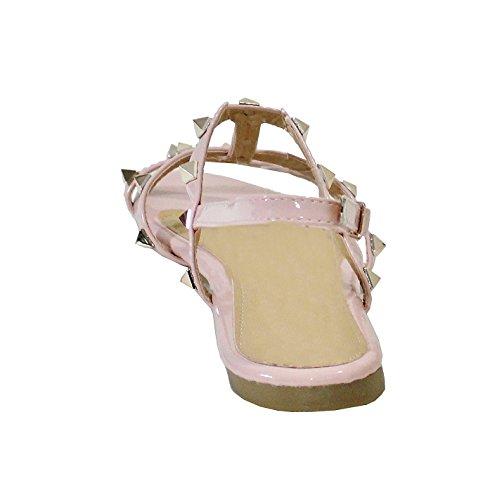 By Shoes -Sandalias para Mujer Rosa