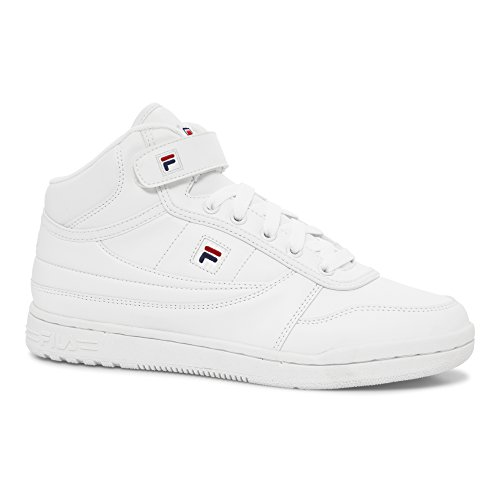 Fila White Sneakers (Fila Women's BBN 84 Walking Shoe, White Navy red, 9.5 B US)