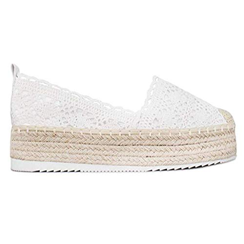 Hollow Platform Shoes for Women,Huazi2 Breathable Wedge Espadrilles Casual Shoes]()