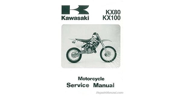 Amazon.com: 95-97 KAWASAKI KX100: Kawasaki OEM Parts Factory Service Manual: Manufacturer: Automotive