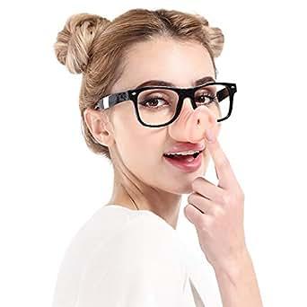 Amazon.com: Gafas para fiesta, vacaciones, divertidas gafas ...