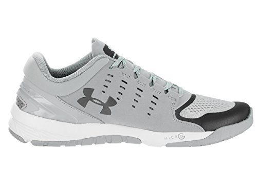 Under Armour Ladies UA Charged Stunner Bedeckt Grau / Weiß / Metallic Zinn