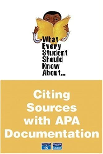 What Every Student Should Know About Citing Sources with APA