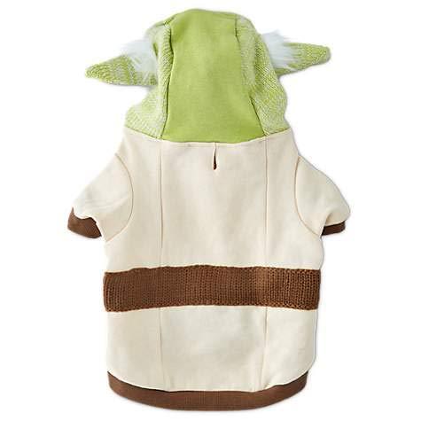 Petco Star Wars Yoda Dog Sweater with Knit Hoodie, Medium]()