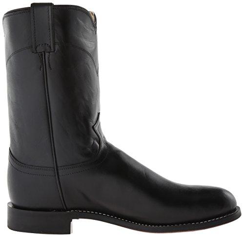 Equestrian Ropers Kipskin Boot Justin Black Men's Boots q6xwRS0