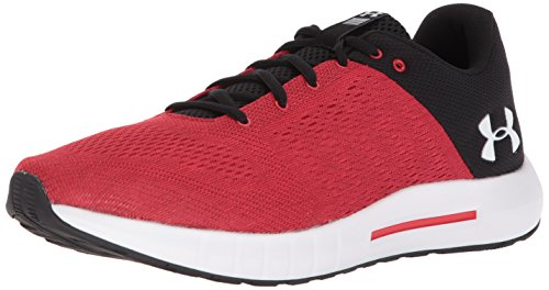 Under Armour Men's Micro G Pursuit Running Shoe,Pierce (600)/Black,10.5