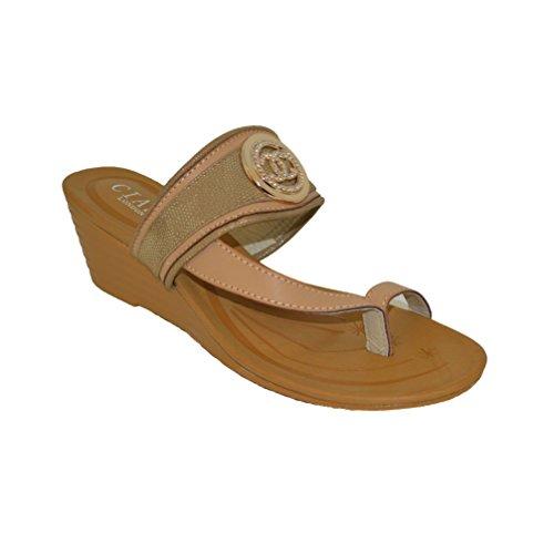 Ciara - Sandalias de vestir de Material Sintético para mujer Beige - beige
