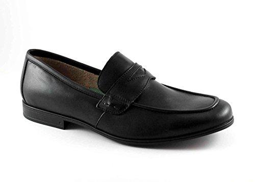 20685 Antiestático Mocasín Zapatos Cuero Negros De Hombre León Nero FqUfw7Sw