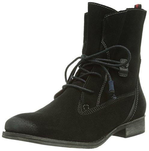Schwarz Tamaris Damen Black 001 Stiefel 25146 Kurzschaft wx4f6xgFq