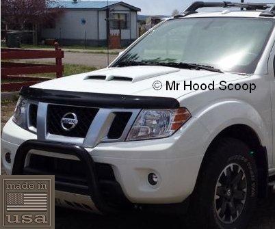 1998-2017 Hood Scoop for Nissan Frontier by MrHoodScoop UNPAINTED HS002