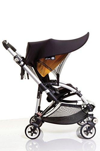 Dreambaby Strollerbuddy Extenda-Shade, Black, Large by Dreambaby (Image #2)