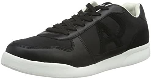 Armani Jeans Sneaker Low Mens Sneakers Black