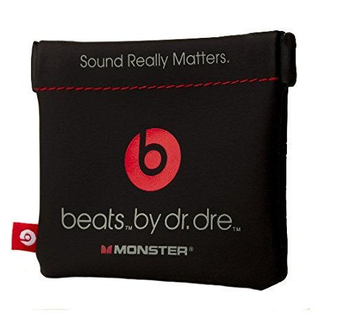 In-Ear Beats Earphone Black Carrying Pouch for Dr.Dre, iBeats, Tour, Heart Beats by Lady Gaga, Diddy Beats, Power Beats, Gratitude, DNA, Diesel VEKTR, iSport Victory, iSport Immersion, Inspiration, ClarityMobile, NCredible N-Ergy, Street by 50, Lil Jamz, Turbine, Harajuku In-Ear Earphones