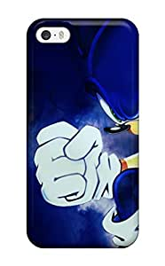 Awesome Sonic Flip Case With Fashion Design For Iphone 5/5s