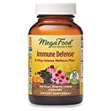 MegaFood, Immune Defense, Supports Immune and Cellular Health, 5-Day Intense Wellness Supplement, Gluten Free, Vegan, 30 Tablets (15 Servings)