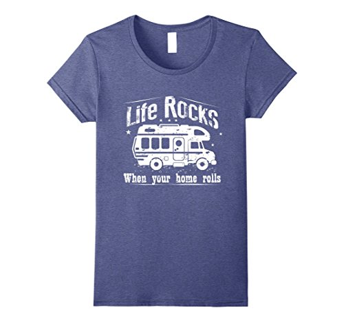 Womens RV Life Shirt for RV Camping.Life is better in a C...