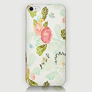 LCJ Common Peony Pattern Back Case for iPhone 6