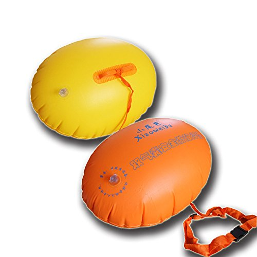 Labu Store 1pcs Pool Float Water Fun Toys Swim Ring Inflatable Float Pool Accessories Floats PVC Airbag Safety Swimming Inflated Life Buoy