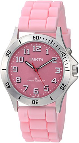 Easy Clean, Light Up Nurse Watch by Dakota-Pink (Dakota Watch Bands)