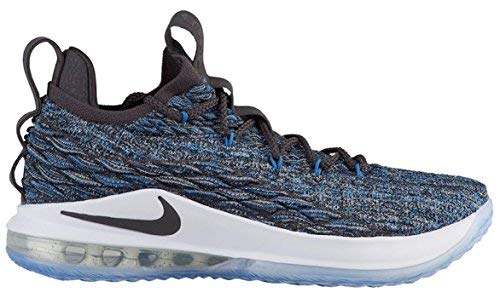 NIKE Men's Lebron 15 Low Basketball Shoes (11, Signal Blue)