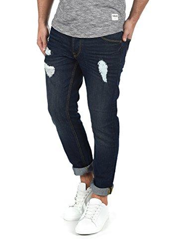 Pantalón Jeans Hombre Blue Vaquero 9620 Elástico para Solid Fit Slim MOY Dark wfTgqB
