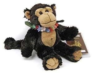 Hawaiian Plush Kupu Monkey Collectible Toy